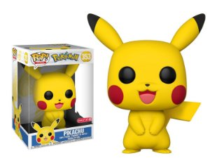 "Funko Pop Pokémon Pikachu Super Size 10"" 30cm #353"