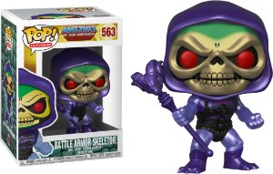 Funko Pop Master of Universe Battle Armor Skeletor Metálico Exclusivo #363