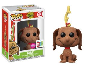Funko Pop The Grinch - Max Flocked Exclusivo #13