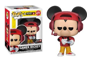 Funko Pop Disney Mickey's 90th - Gamer Mickey Exclusivo #471