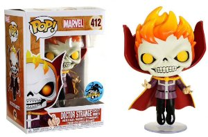 Funko Pop Marvel Doctor Strange Ghost Rider Exclusivo #412