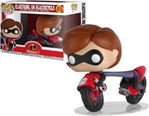 Funko Pop Rides Disney Os Incríveis Incredibles 2 Elastigirl On Elasticycle #45