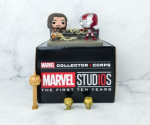 Funko Box Marvel Studios The First Ten Years Marvel Collector Corps