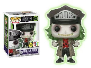 Funko Pop Beetlejuice Besouro Suco Glows Exclusivo #605