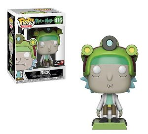 Funko Pop Rick and Morty - Rick Exclusivo Gamestop #416