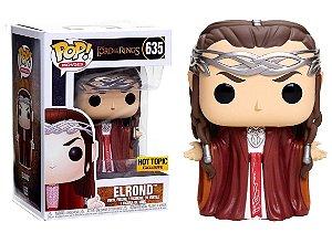 Funko Pop Senhor dos Anéis Elrond Exclusivo #635