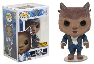 Funko Pop Disney Bela e a Fera - Beast Fera Flocked Exclusiva #243