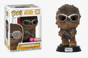 Funko Pop Star Wars Chewbacca Flocked Exclusivo #239