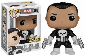 Funko Pop Marvel The Punisher Justiceiro Exclusivo #80