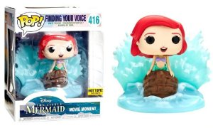 Funko Pop Disney Movie Moments The Little Mermaid Pequena Sereia Ariel Finding Your Voice Exclusivo #416