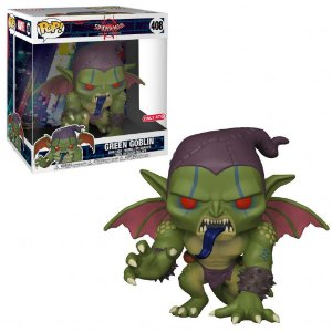 "Funko Pop Marvel Spider-Man Into the Spider-Verse - Green Goblin 10"" Super Size Exclusivo #408"