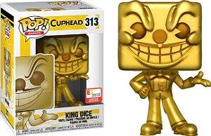 Funko Pop Cuphead King Dice Gold Exclusivo 2018 E3 #313