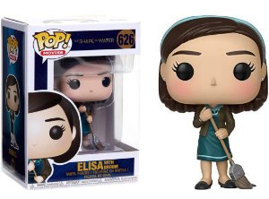 Funko Pop Shape of Water Forma da Água Elisa With Broom #626