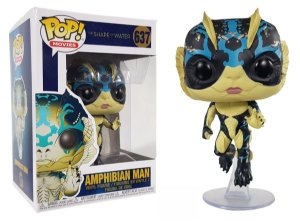 Funko Pop Shape of Water Forma da Agua Amphibian Man #637