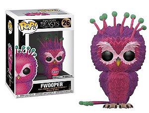 Funko Pop Animais Fantasticos Fantastic Beasts 2 - Fwooper Flocked Exclusivo #26