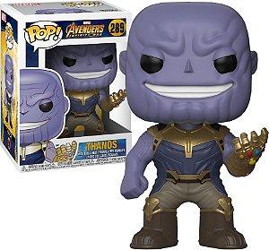 Funko Pop Marvel Vingadores Guerra Infinita Thanos #289