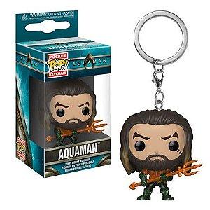 Chaveiro Funko Pocket Pop DC Aquaman