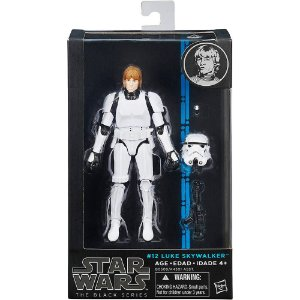 Star Wars Black Series Luke Skywalker Stormtrooper #12 Hasbro