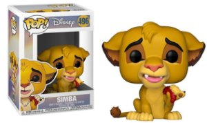 Funko Pop Disney O Rei Leão The Lion King Simba #496