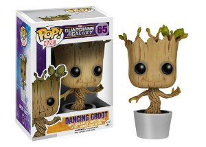 Funko Pop Marvel Guardiões da Galáxia Dancing Groot #65
