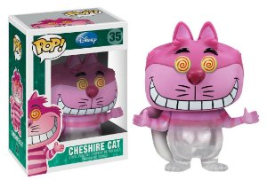 Funko Pop Disney Alice no País das Maravilhas Cheshire Cat Fading Exclusivo #35