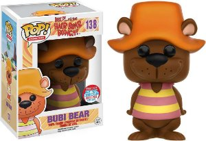 Funko Pop Help Its the Hair Bear Bunch- Bubi Bear Exclusivo NYCC 18 #138