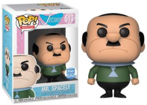 Funko Pop Hanna Barbera The Jetsons Mr Spacely Exclusivo #513