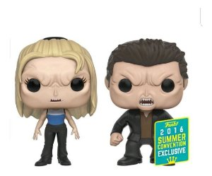 Funko Pop Buffy The Vampire Slave - Buffy And Angel 2-Pack Exclusivo SDCC16