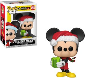 Funko Pop Disney Mickeys 90th - Holiday Mickey #455