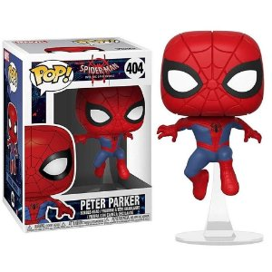 Funko Pop Marvel Spider-man Into The Spider Verse - Peter Parker #404