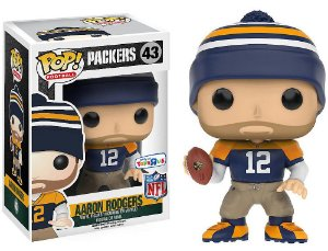 Funko Pop Nfl Green Bay Packers Aaron Rodgers Exclusivo Toys R Us #43