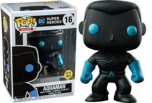 Funko Pop DC Super Heroes Aquaman Silhouette Glow Exclusivo #16
