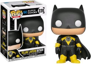 Funko Pop DC Super Heroes Yellow Lantern Batman Exclusivo #220