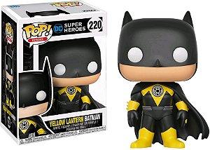Funko Pop DC Super Heroes Yellow Lantern Batman Exclusivo #220