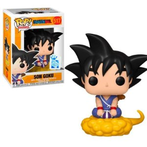 Funko Pop Dragon Ball Z Son Goku Exclusivo #517
