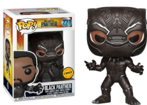 Funko Pop Marvel Pantera Negra Black Panther Chase #273