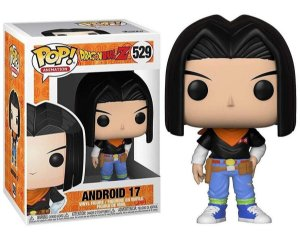 Funko Pop Dragon Ball Z Android 17 #529