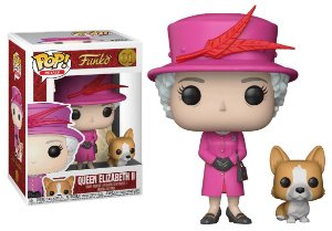 Funko Pop Royal Family Familia Real Queen Elizabeth II #01