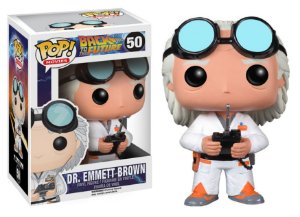 Funko Pop De Volta para o Futuro Back To de Future Dr Emmet Brown #50