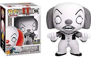 Funko Pop It A Coisa Pennywise Black and White Exclusivo RI Comic Con #55