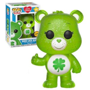 Funko Pop Ursinhos Carinhosos Care Bears Good Luck Bear Chase Glow #355