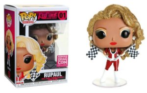 Funko Pop Drag Queens Rupaul Diamond Exclusivo Drag Con #01