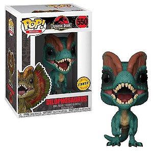 Funko Pop Jurassic Park Dilophosaurus Chase #550
