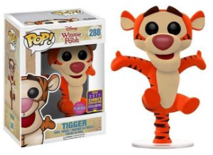 Funko Pop Disney Winnie The Pooh - Tigrão Tigger Flocked Exclusivo SDCC 17 #288