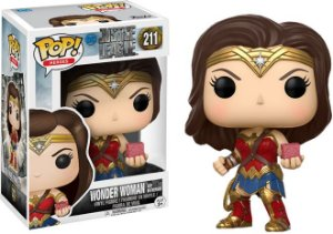 Funko Pop DC Mulher Maravilha With Mother Box Exclusiva #211