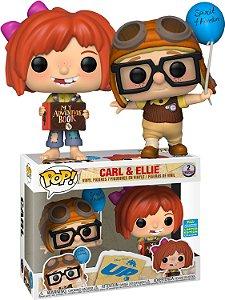 Funko Pop Disney UP Carl e Ellie 2 Pack Exclusivo SDCC 19