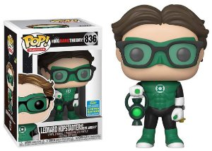 Funko Pop The Big Bang Theory Leonard Lanterna Verde Exclusivo SDCC 19 #836