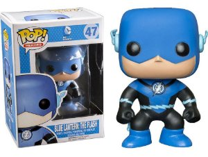 Funko Pop Dc Blue Lantern: The Flash #47