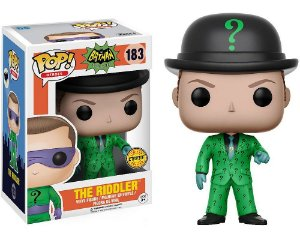 Funko Pop DC Batman Classic TV Series The Riddler Charada Chase #183
