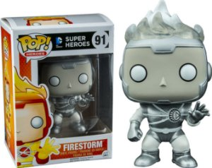 Funko Pop DC Firestorm Gray Exclusivo #91
